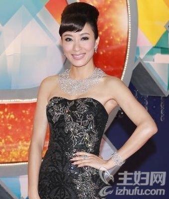 资讯生活新晋视后杨怡领衔TVB众美女花旦发型大PK